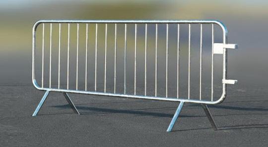 metal security barrier